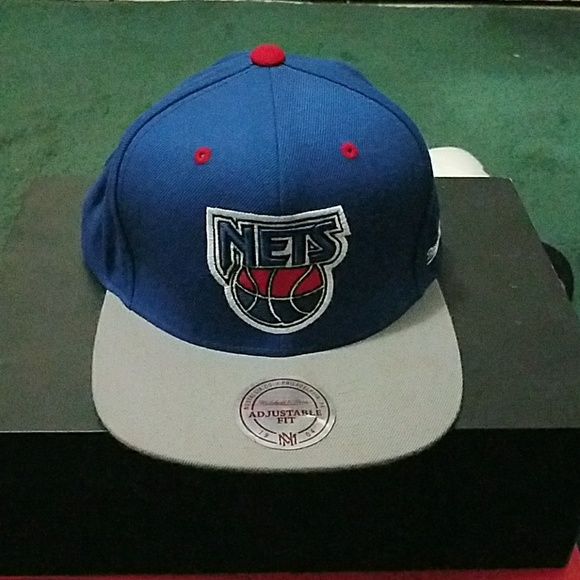 save off cd3ff c6408 Mitchell & Ness snapback New Jersey NETS
